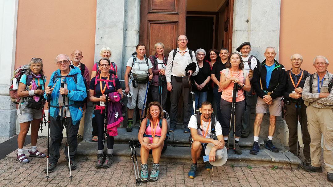 Marche pèlerinage ND Vouise à la Salette