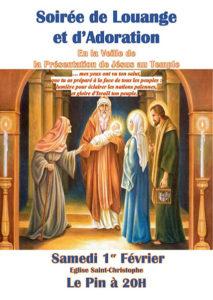 soirée louange église saint-christophe